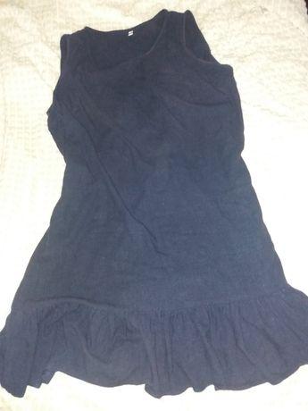 Платья.  льняное