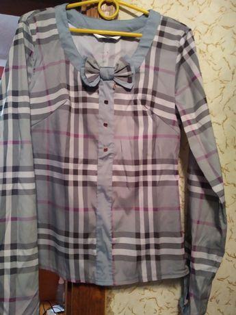 Блузка в деловом стиле