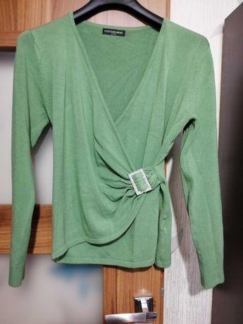 Zielony sweterek L /XL
