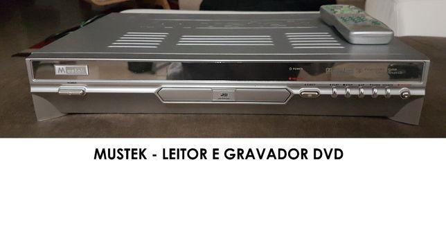 Leitor e Gravador de DVD Mustek