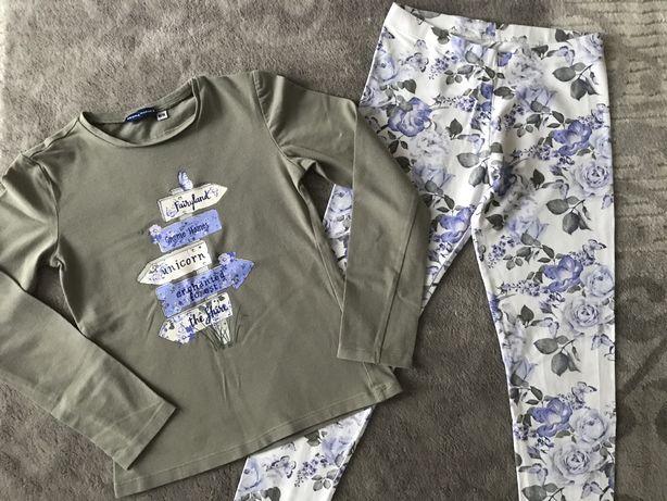 Komplet Original marines bluzka + legginsy rozmiar 128/134