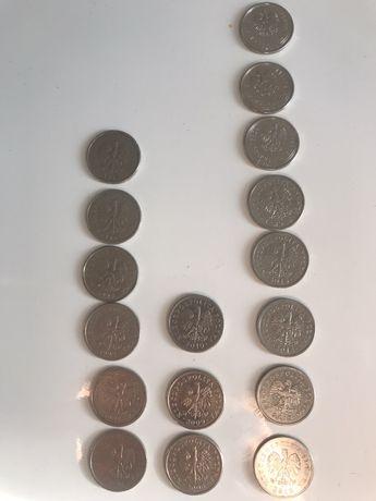 Komplet monet 1zł z każdego roku emisji