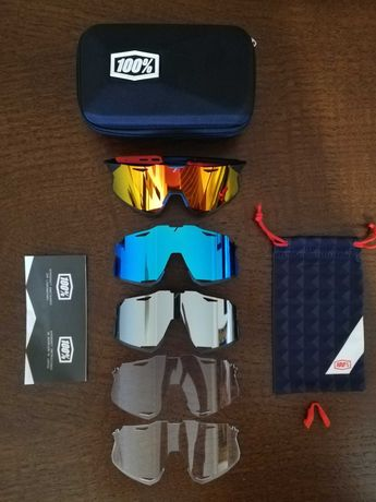 Óculos de ciclismo 100% photochromic e polarizados uv 400