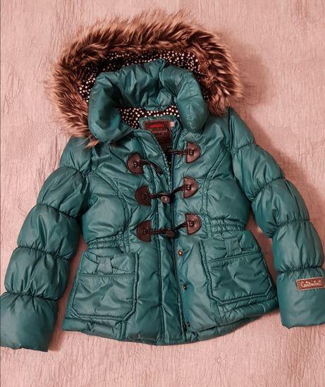 Catimini parka kurtka zimowa, płaszczyk zimowy. ZARA, H&M, RESERVED