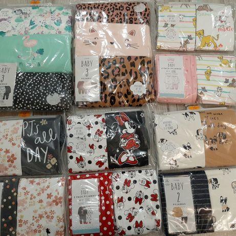 Piżamki dla dziewczynek r.86, 92 i 98