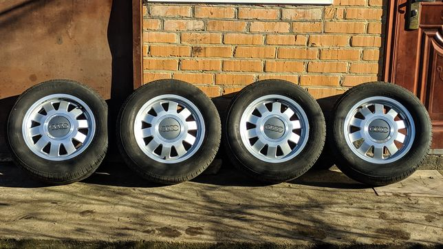 Диски R15 5x112 Audi, VW, Skoda с летней резиной Pirelli 195/65/15