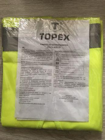 Kamizelka ostrzegawcza XL spełniająca wymogi