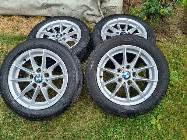 """Alufelgi BMW 16"""" 5x120 z oponami zimowymi"""