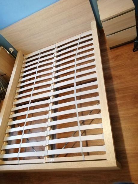 Łóżko malm Ikea / rama + stelaż 140 x 200