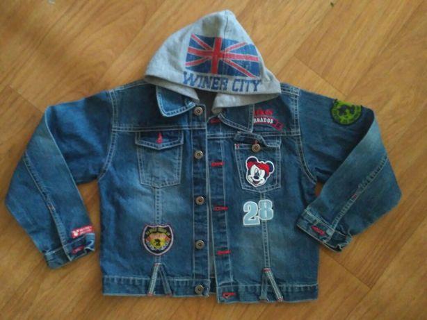 Джинсовка - джинсова куртка на хлопця 5-7 років