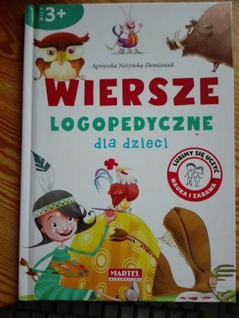 Wiersze logopedyczne dla dzieci - Agnieszka Nożyńska-Demianiuk