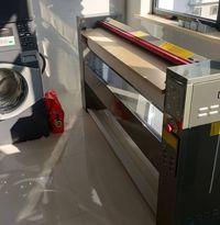 Calandra máquina de passar roupa industrial