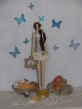 Кукла ручной работы Тильда Пляжница