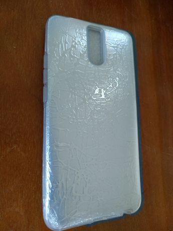 Силиконовый серебристый чехол для мобильного телефона Meizu. M6 Note