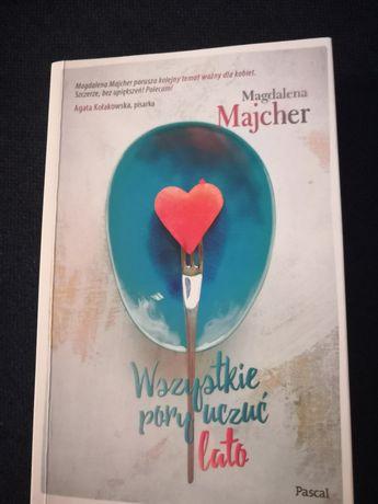 Książka wszystkie pory uczuć- lato Magdalena Majcher
