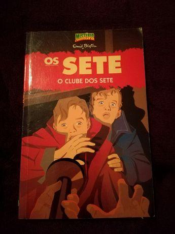 Vendo livro Os Sete, o Clube dos Sete