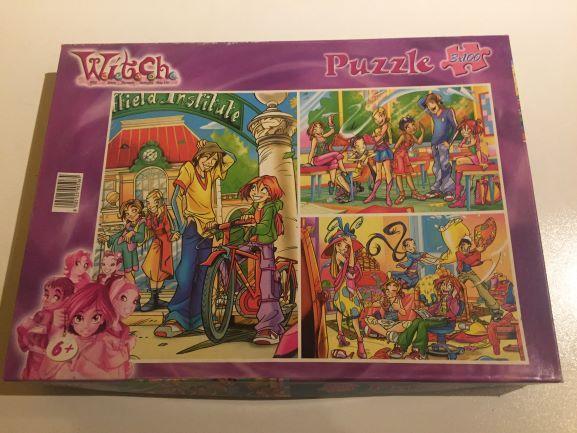 Puzzle Witch 3X100 peças