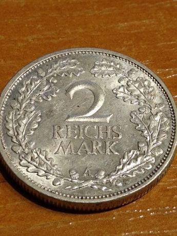 2 marki 1926 A Weimar bardzo ładny egzemplarz
