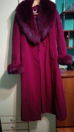 Пальто зимове довге