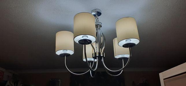 Lampa sufitowa duża Żyrandol