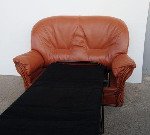 Кожаный Диван Раскладной, Мягкая мебель, Кожаная мебель.