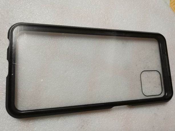 Capa 3D - Telemóvel Oppo A72 5G - Preto fecho por iman