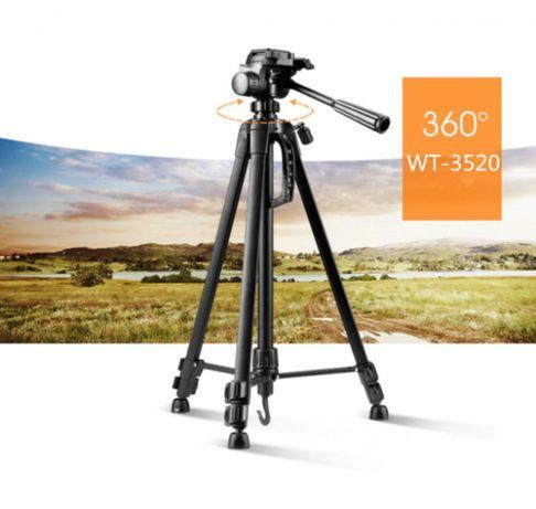 Штатив для телефона/фотоаппарата/камеры профессионал. Weifeng WT-3520