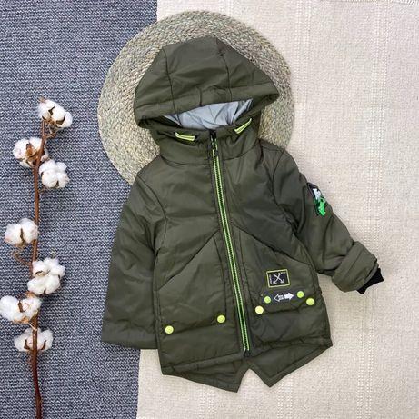 Детская курточка мальчику 110-116 размер, 5-6 лет