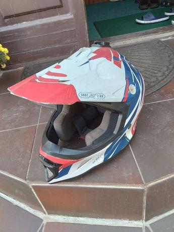 Мото шлем кросс эндуро