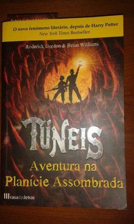 Livro Túneis- Aventura na Planície Assombrada