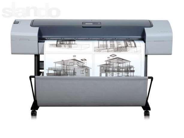 Печать чертежей и изображений до формата А1