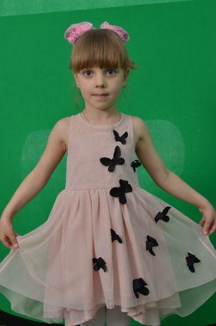 Платье , 4-5лет.