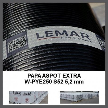 Papa termozgrzewalna PYE 250 S52 ASPOT Extra Lemar Super Tanio!!