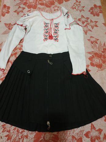 Блузки, юбки, сарафан р.128-152