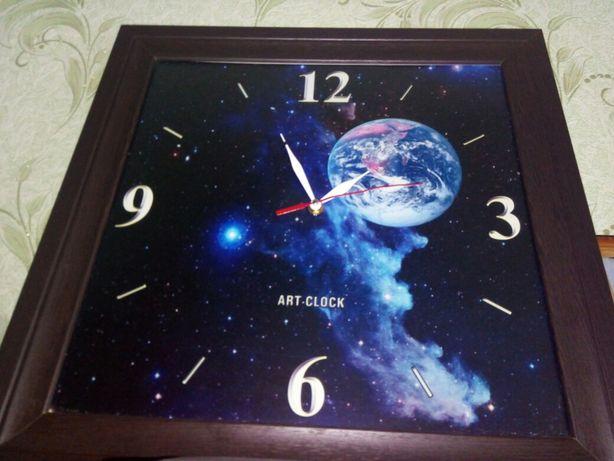 """Часы настенные """"Галактика"""" art-clock. clock"""
