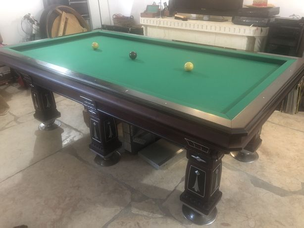 Mesa de bilhar 3 bolas Carambola ( antiguidade ) URGENTE