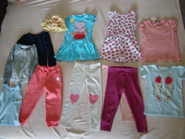 Ubranka dla dziewczynki - zestaw w rozmiarze 98-104cm