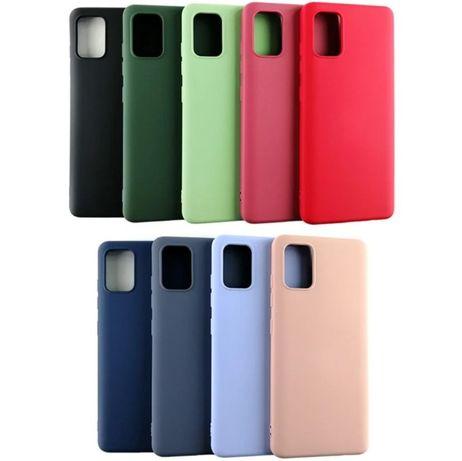 Чехол с микрофиброй на для Samsung A51 A71 S20 S20 Plus S20 Ultra