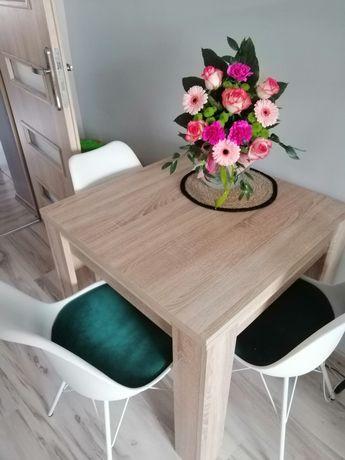 Stół jysk dąb sonoma 80x80 rozkładany