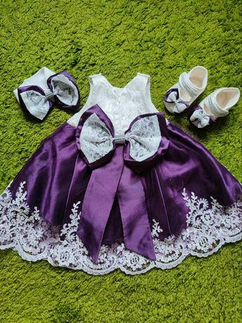 Платье на крестины нарядное платье