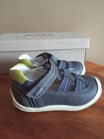 Buty skórzane półbuty sandały chłopięce Lasocki kids r.21