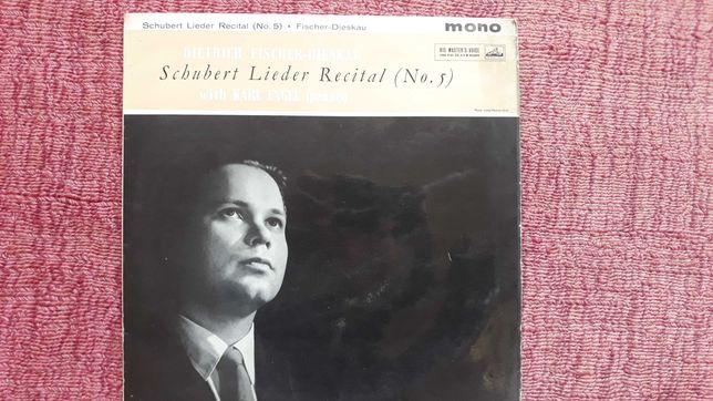 LP Vinil - Schubert Lieder Recital (No. 5) / Dietrich Fischer-Dieskau