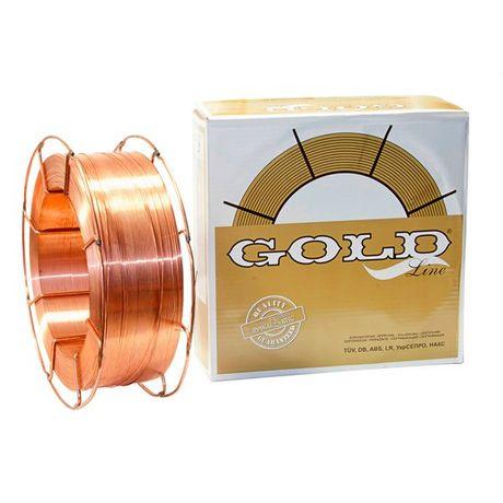 Drut spawalniczy SG2 0,8mm 15kg GOLD