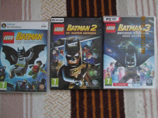 Gra Batman na PC -3 sztuki