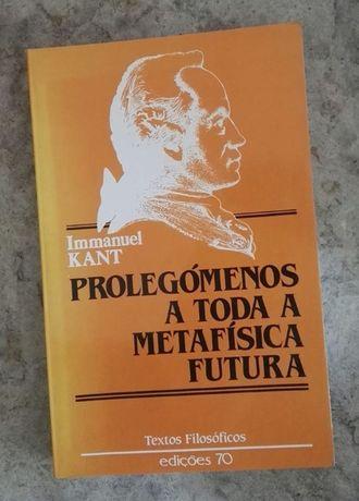 Kant - Prolegómenos a toda a metafísica futura