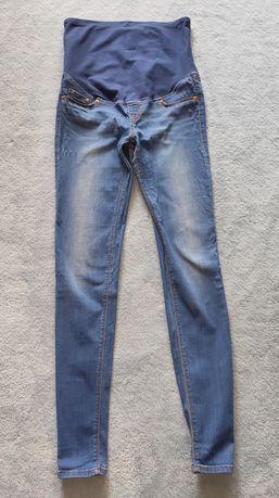Spodnie jeansy ciążowe H&M Mama rozmiar S/36