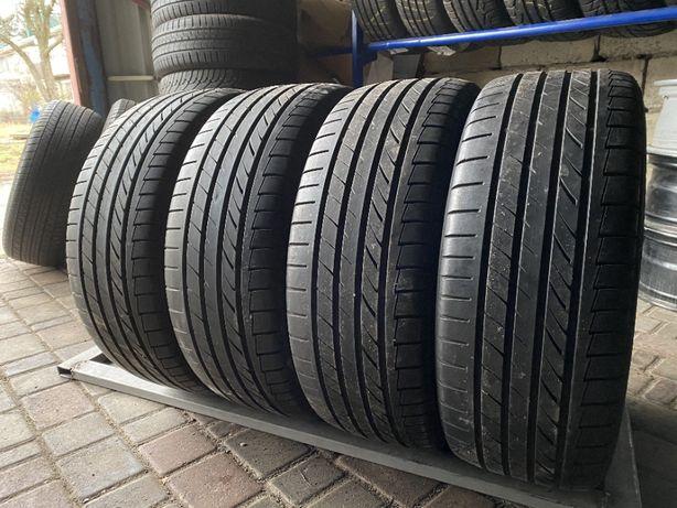 лето 215/45/R18 6,7мм Dunlop 4шт шины шини замена повыше для 225\40\18