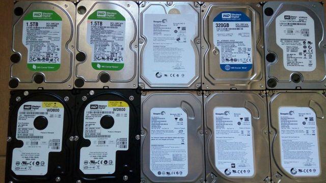 Жесткий диск, Жесткие диски WD Seagate DELL