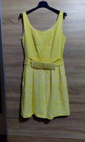 Sukienka żółta rozmiar L