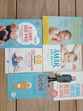 Livros de puericultura (blw, Montessori,...)